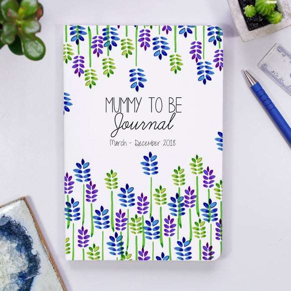 Mummy To Be Personalised Journal Notebook - Olivia Morgan Ltd