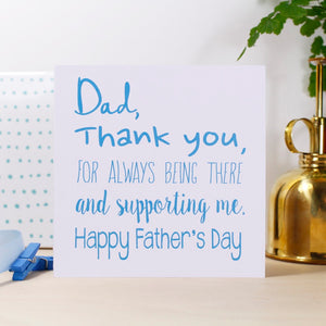 Father's Day Personalised Card - Olivia Morgan Ltd