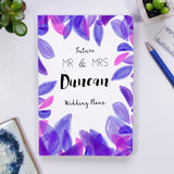Mr and Mrs To Be Wedding Planner Personalised Notebook - Olivia Morgan Ltd