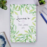 Travel Journal Personalised Notebook For Her - Olivia Morgan Ltd
