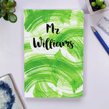 Teacher Personalised Notebook Gift - Olivia Morgan Ltd
