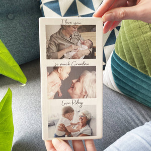 Ceramic Photo Tile For Grandma - Olivia Morgan Ltd