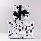 Dotty Pattern Eco Friendly Wrapping Paper - Olivia Morgan Ltd