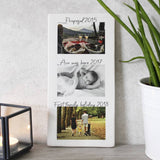 Family Timeline Photograph Ceramic Tile Decoration - Olivia Morgan Ltd