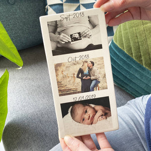 First Mother's Day Photo Tile Decoration - Olivia Morgan Ltd