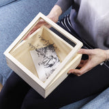 Best Friend Perspex Wooden Keepsake Box - Olivia Morgan Ltd