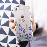 Floral Personalised iPhone Case - Olivia Morgan Ltd