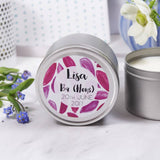 Graduation Personalised Tin Scented Candle - Olivia Morgan Ltd