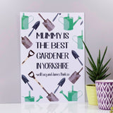 Gardener Personalised Print - Olivia Morgan Ltd