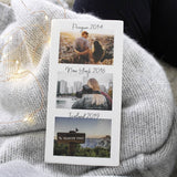 Travel Timeline Photograph Ceramic Tile Decoration - Olivia Morgan Ltd