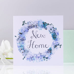 Wreath New Home Card - Olivia Morgan Ltd