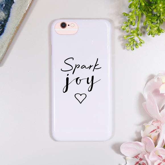 Spark Joy iPhone Case - Olivia Morgan Ltd