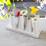 Personalised Multi Stem Vase For Grandma - Olivia Morgan Ltd