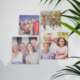 Birthday Wooden Photo Tiles In A Box For Him / Dad