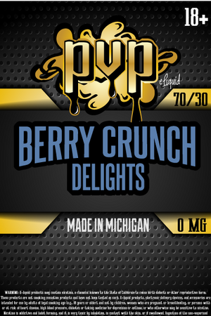 Berry Crunch Delights