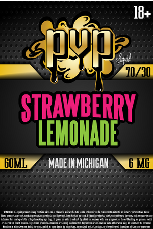 Organic Flavonoid Strawberry Lemonade