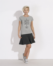 T-Shirt In galette saucisse we trust femme gris galette complete png