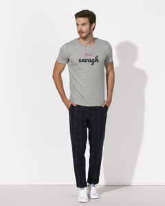 Pate enough tshirt gris homme png Galette Complete