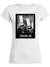 T-Shirt bigoudenelife blanc femme galette complete png