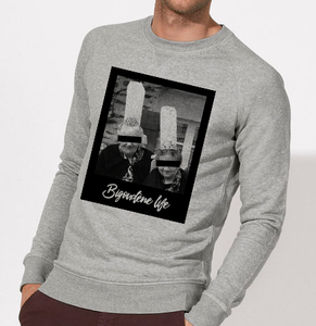 Sweat Bigoudenelife homme gris galette complete png