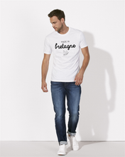 T-Shirt made in bretagne crepe blanc homme galette complete png