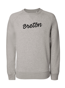 Sweat Breton gris homme galette complete png