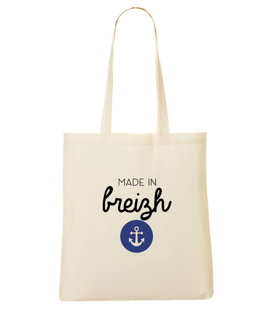 Totebag Made in Breizh ancre #2