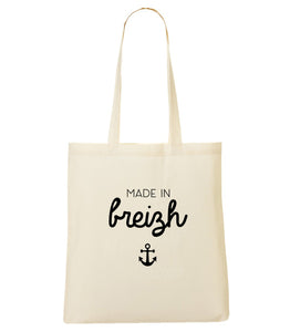 Totebag Made in breizh ancre #1