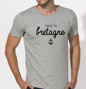 T-Shirt Made in Bretagne ancre