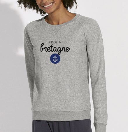 Sweat Made in Bretagne ancre #2