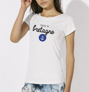 T-shirt Made in bretagne ancre #2