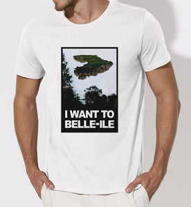 T shirt I Want to belle ile