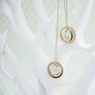 Personalised 'Fly Me To The Moon' Necklace & Keepsake