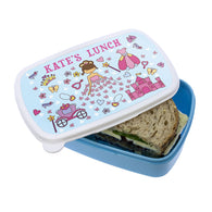 Personalised Princess Lunch Box