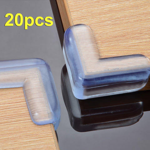 20 Pieces High Quality Child Safety Corner Silica Edge Corner Guard