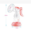 Advanced BPA FREE Manual Breast Pump - 80% Less Breast Pain