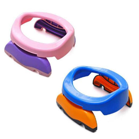 Children's Folding Plastic Travel & Home Potty