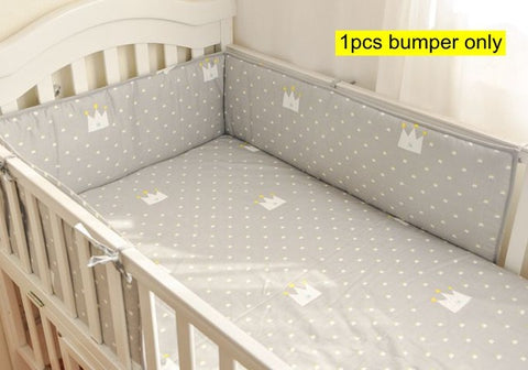 Warm & Cosy 1 Piece Crib Bumper Only