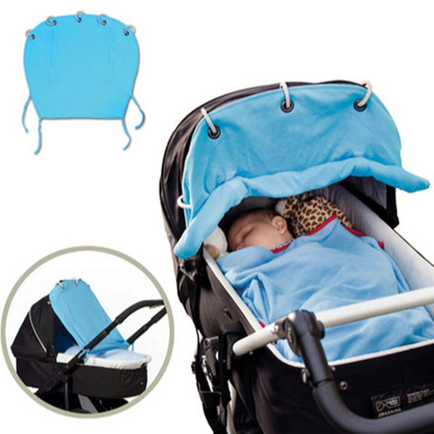 Baby Stroller & Car Seat Cotton Sunshade