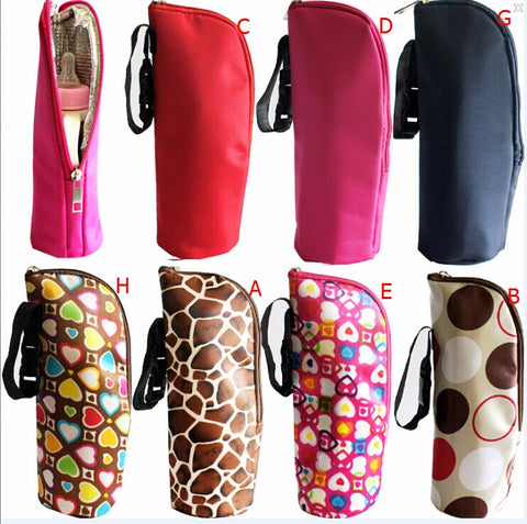 Colourful Print Low Profile Baby Bottle Insulation Warmer