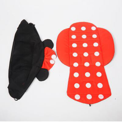 175  Degrees Stroller Sun Shade Cover & Seat Cushion
