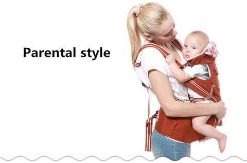 Luxury 9 in 1 Ergonomic Hipseat Baby Carrier