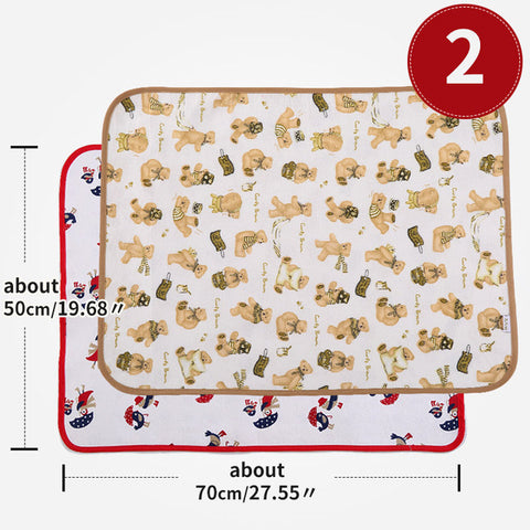 Waterproof Baby Mattress Protector & Diaper Changing Pad