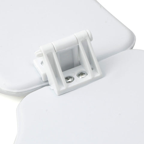 Padded White Portable Folding Child Baby Toilet Seat