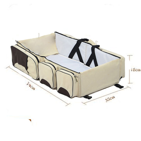Portable Travel Changing Bassinet