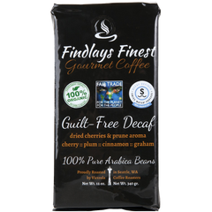 Guilt-Free Decaf by Findlays Finest Gourmet Coffee