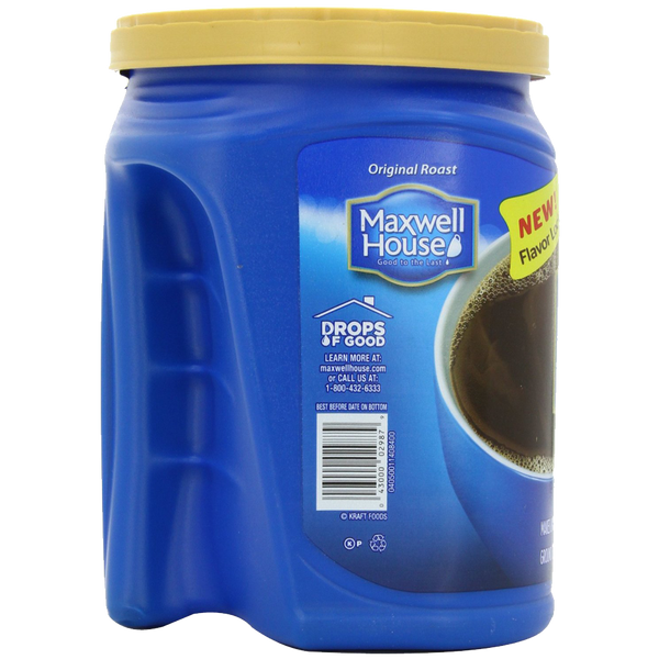 Maxwell House Original Roast Ground Coffee Value Container