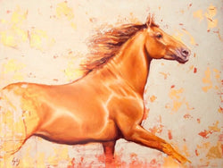 Oro Sketch-Fine Art Painting By Catherine Ingleby/Equine Art/Horse Art Equine Canine Art is an online sales platform for horse art and dog art.