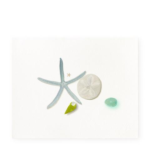 Beach Finds Art Print