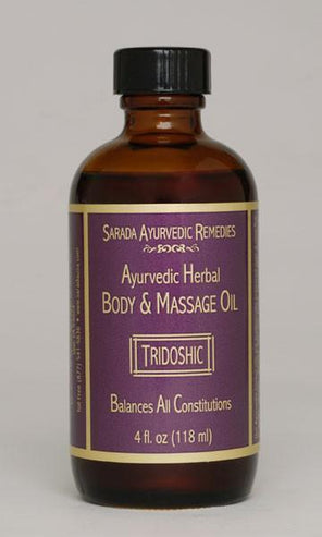 Ayurvedic Massage Oil: Tridoshic